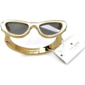 New York Gold Plated Sunglasses Style Bracelet